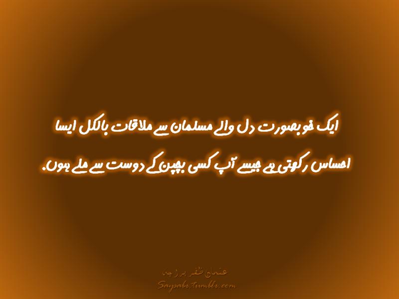 Best Urdu Quotes By Usman Zafar Paracha Saypeople