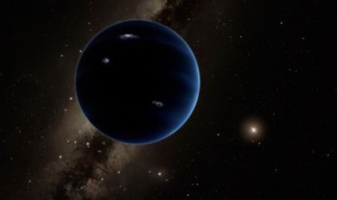 This artistic rendering shows the distant view from Planet Nine back towards the sun.  (Credit: Caltech/R. Hurt (IPAC))
