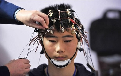 "Uploading new skills to the brain just as in ""The Matrix"" (Credit: Reuters)"