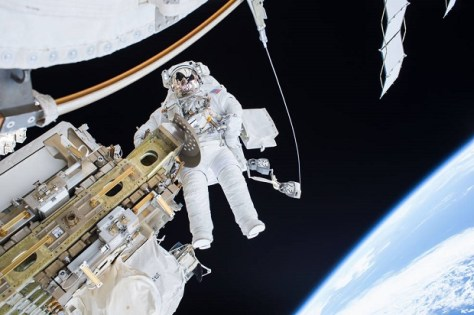Astronaut in space (Image credit: NASA)