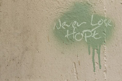 Never lose hope (Motivational quote)
