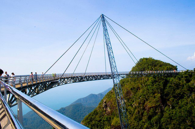 Bridge in Pulau Langkawi, Malaysia (Source: Escapetraveler.com)