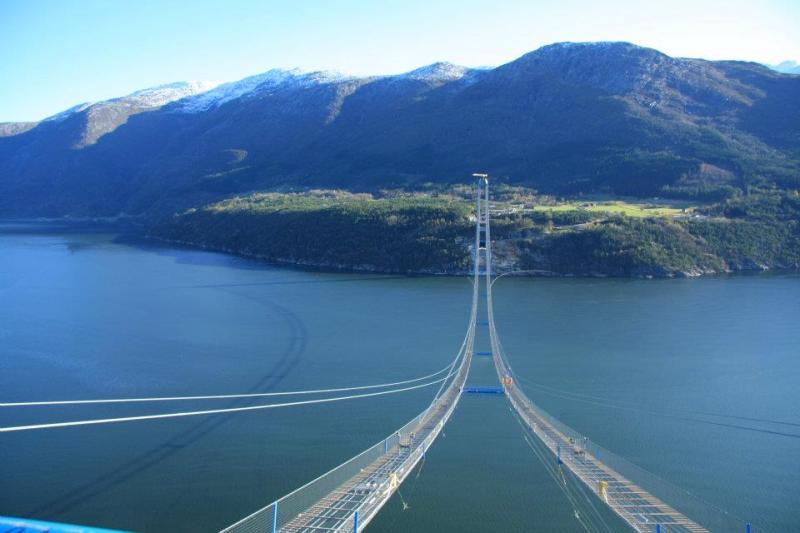 Hardanger Bridge, Norway (Source: store.deals)