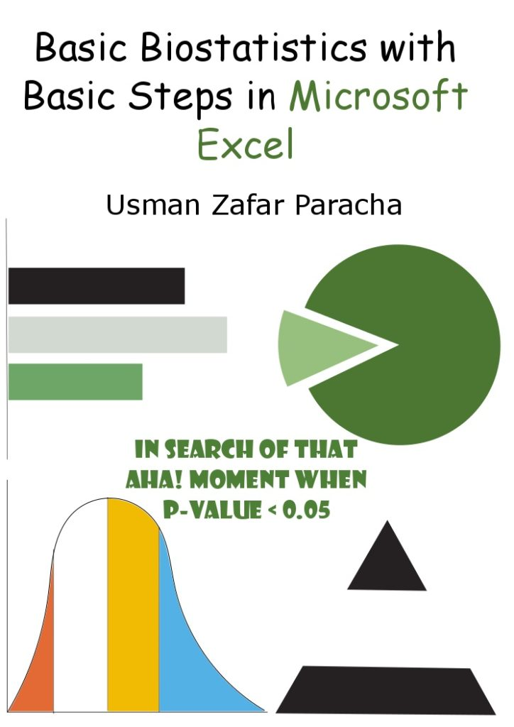 Basic Biostatistics with Basic Steps in Microsoft Excel