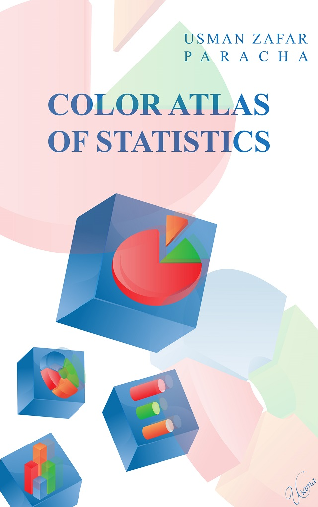 "Cover page for the ebook ""Color Atlas of Statistics"""