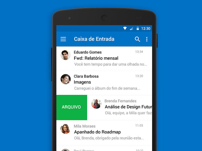 Aplicativo Microsoft Outlook