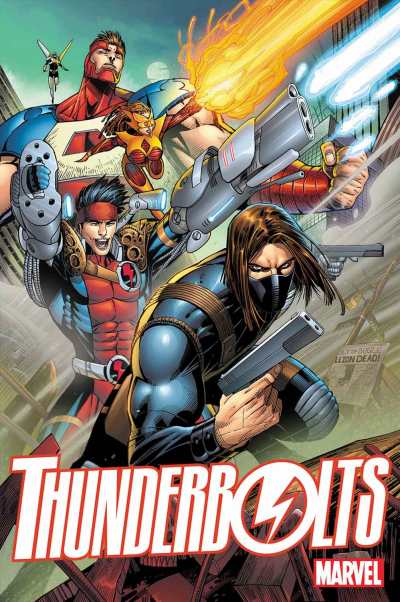 Thunderbolts vol. 3, no. 1 (2016) cover by Jon Malin
