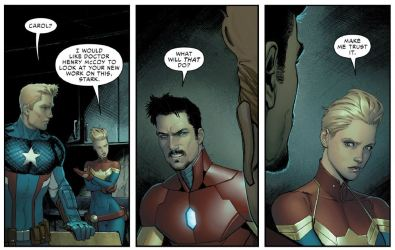 Civil War II no. 4 (2016)Brian Michael Bendis, David Marquez, Justin Ponsor