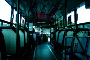Freelance Travel Photographer | Bus in Taichung