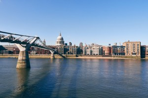 Travel Photographer | St Paul's Cathedral River Thames London England United Kingdom