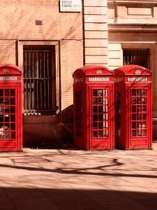 Freelance Photographer | Red telephone booths in London.