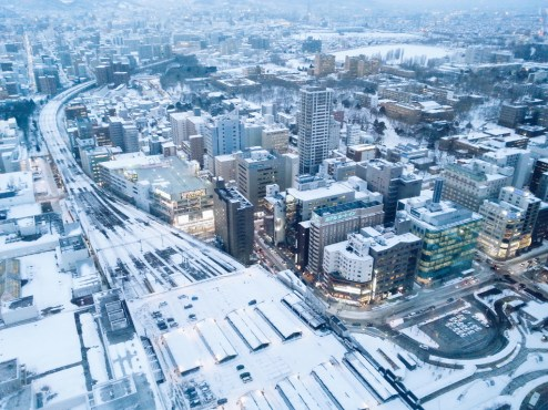 Freelance Travel Photographer | View from Sapporo JR Tower