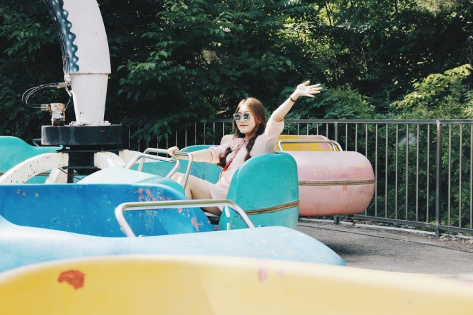 Travel & Fashion Portrait Photographer | Yongmaland (용마랜드) Abandoned Amusement Park Seoul South Korea