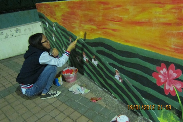 Travel Mural Artist | Hsinchu Science Industrial Park Taiwan