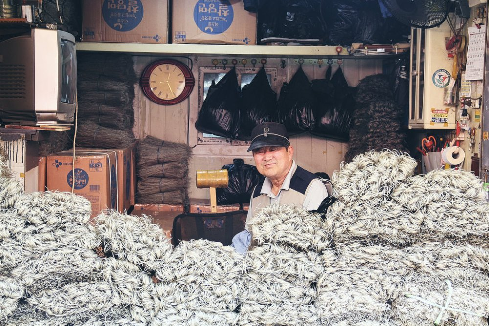 Travel Portrait Photographer | Jagalchi Market Busan South Korea