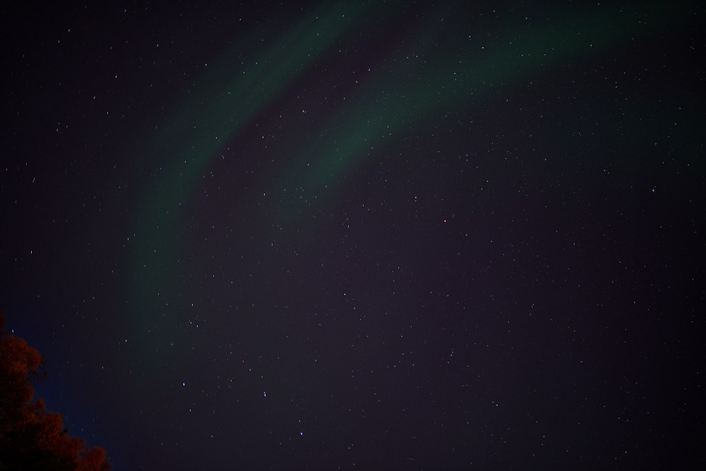 Travel photographer | Aurora in Tromsø Norway