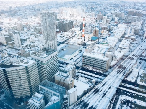 Freelance Travel Photographer | Sapporo JR Tower Hokkaido Japan