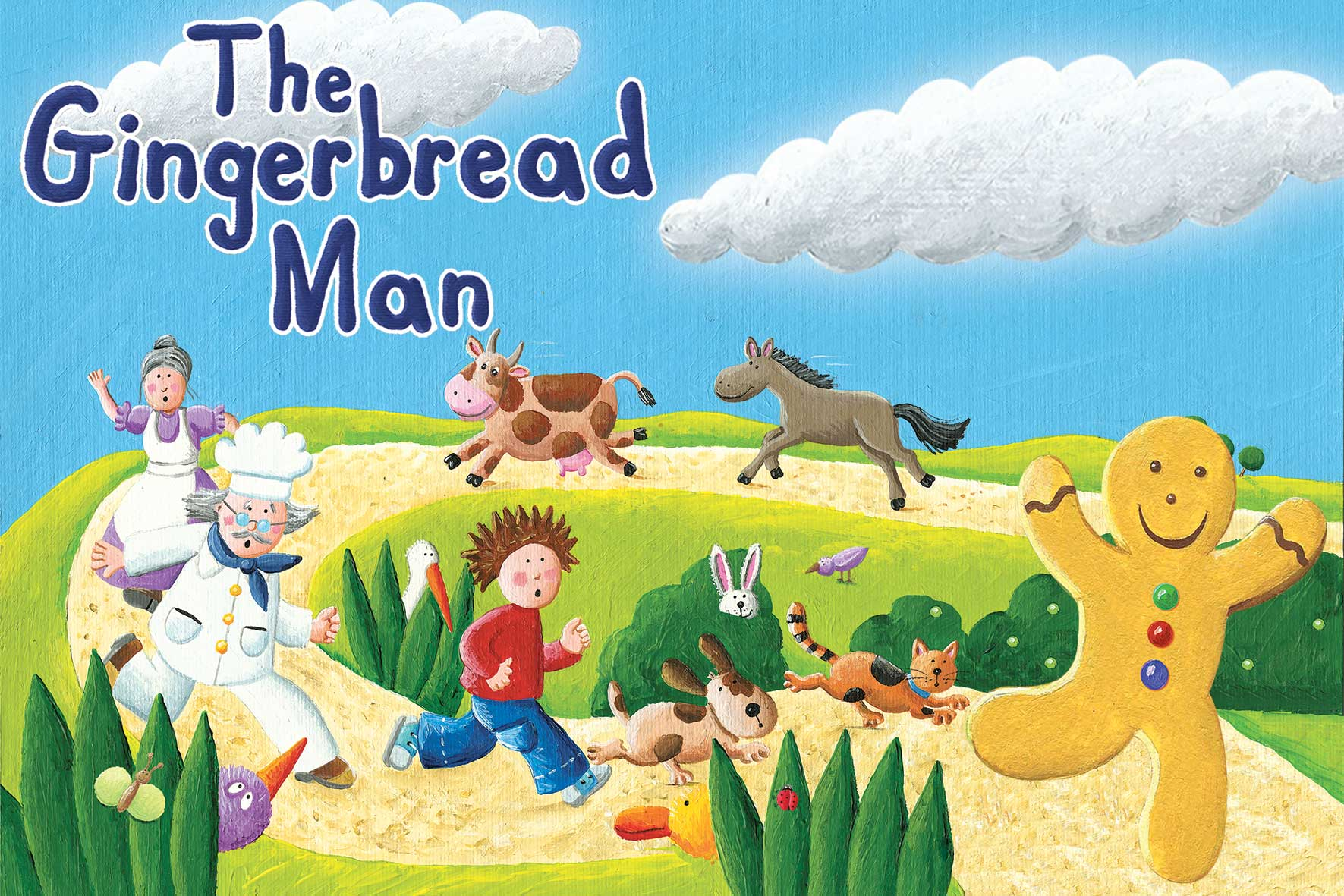 I Theatre S The Gingerbread Man Returns Plus A Giveaway