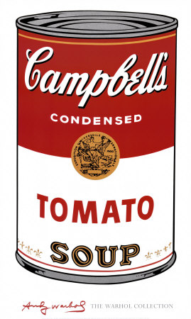 Projected worth in 2025 = 3 cans of Campbell's Tomato Soup