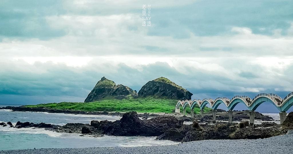 [台東景點]東海岸三仙台八拱跨海步橋,許願亭,磯釣,欣賞天然海蝕景觀