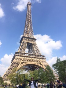 Eiffel tower ft. me