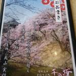 menu book of soba restaurant, Ueda castle