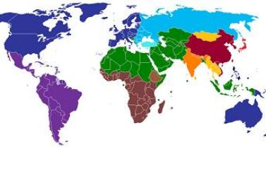 7e0edf0ac قام المفكر الأمريكي الراحل هنتغتون برسم خارطة ملونة للحضارات البشرية ، منها  ما اطلق عليه صفة مكان كاليابانية وأمريكا اللاتينية .