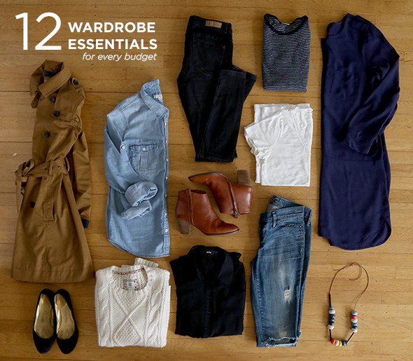 12 wardrobe essentials for every budget