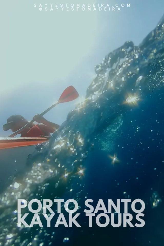 Location de kayak à l'île de Madère et à Porto Santo, Portugal. Location de kayak et excursions en kayak