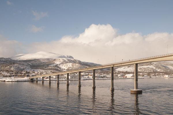 Typical Norwegian bridge