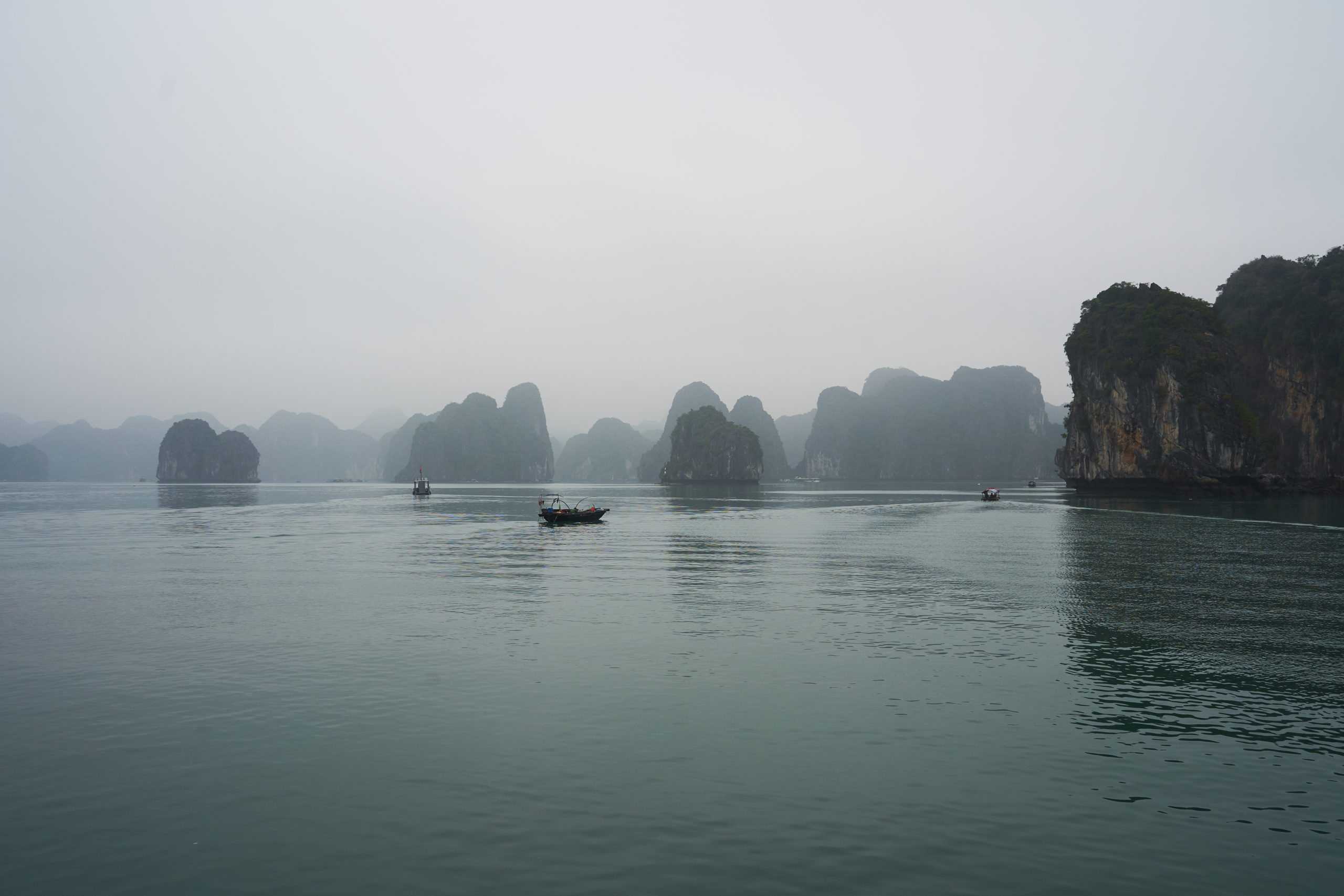 Boating Through The Spectacular Seascape Of Ha Long Bay And Lan Ha Bay Vietnam Say Yes To New Adventures