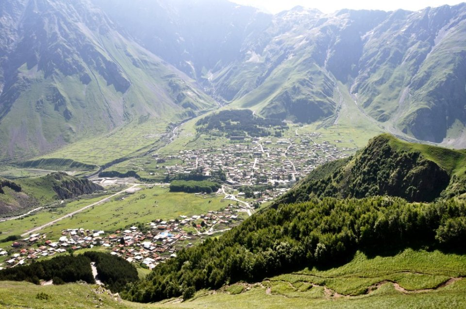 Best day hikes in Kazbegi