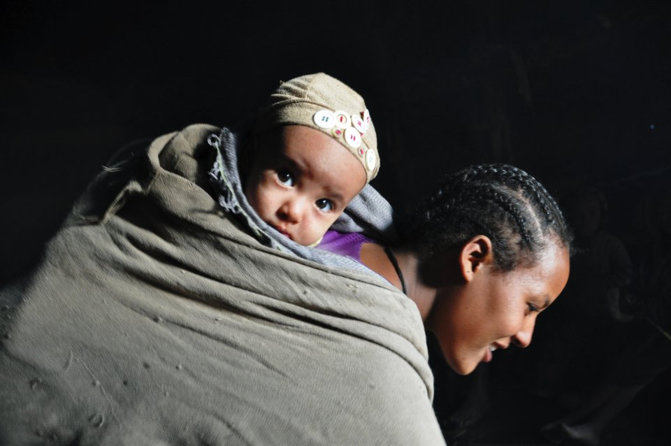Lalibela local villagers