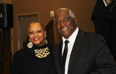 Minister Al Hollingsworth and his wife. Photo by John Coleman