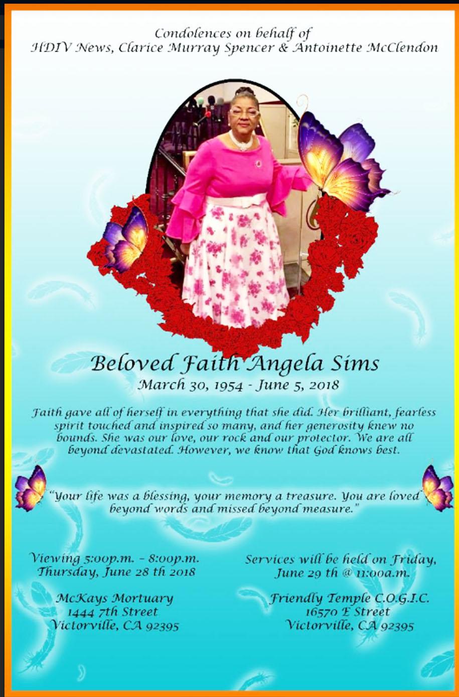 Faith Angela Sims
