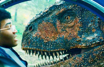 "FALLENKINGDOM_002 Justice Smith (""The Get Down"") stars as Franklin Webb in ""Jurassic World: Fallen Kingdom."" (Universal Pictures)"