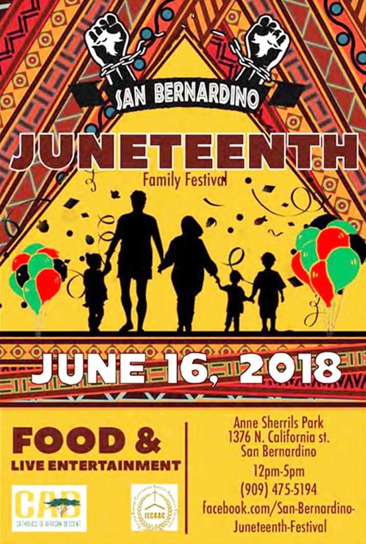 SB Juneteenth flyer
