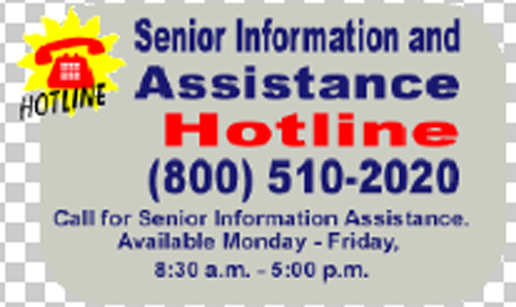 Senior Informaton hotline