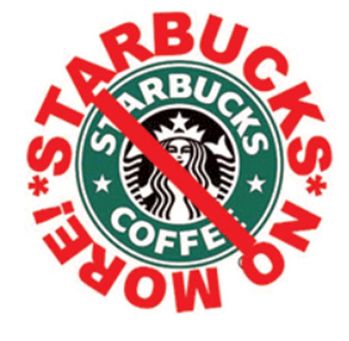 Starbucks no more
