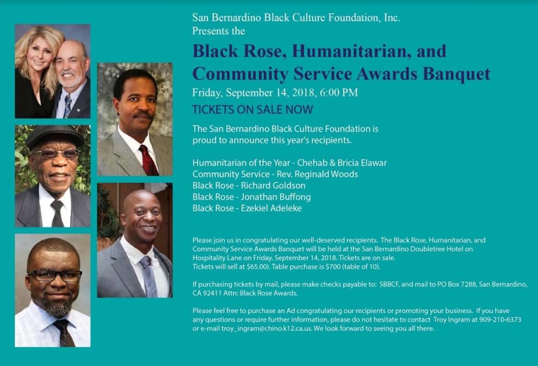 Black Rose Foundation flyer