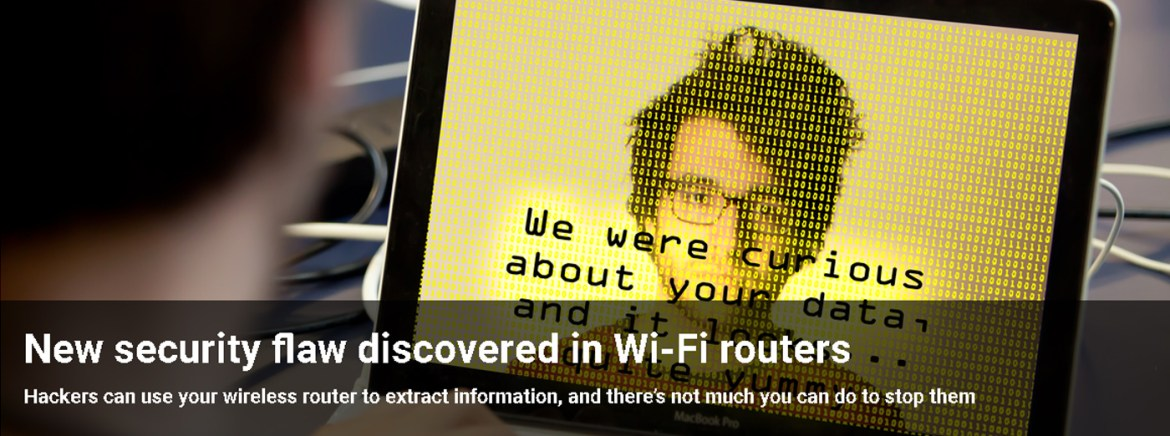 New security flaw in WiFi Router