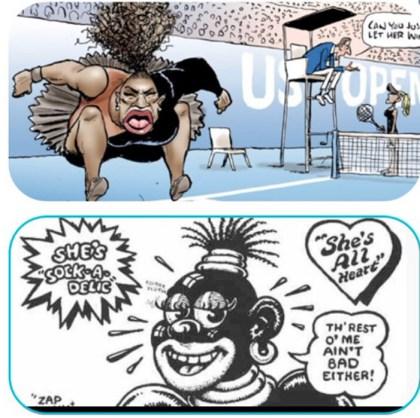 racist cartoons