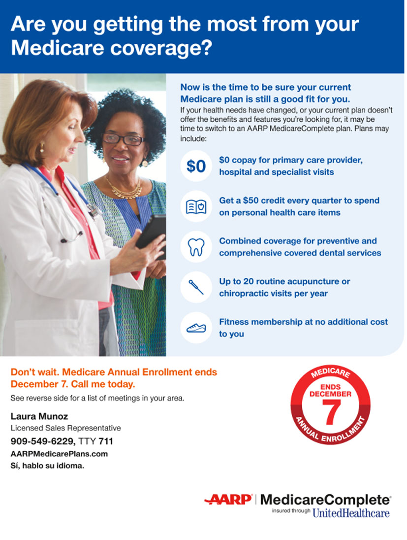 AARP Medicare Open Enrollment
