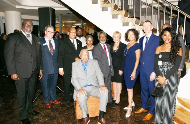 Bishop T.D. Jakes; Gary Sandling, Gary Sandling, vice president of visitor services and programs, Thomas Jefferson Foundation; Dallas City Councilmember Kevin Felder; Dr. Wright Lassiter, Jr., chairman of the board, African American Museum, Dallas; author Vinita Moch Ricks; Dr. Harry Robinson, Jr.; Texas State Representative Helen Giddings; Gayle Jessup White; Calvin Jefferson