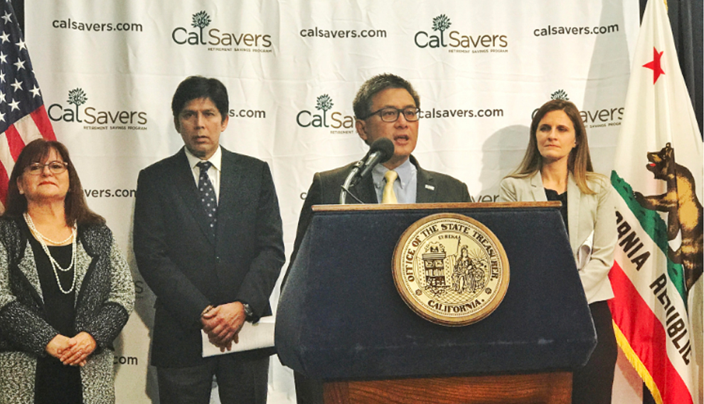 John Chiang CalSavers photo