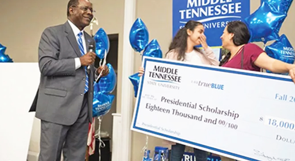Middle Tennessee President