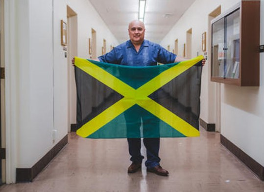 "Roberto ""Bobby"" Rivera will spend 10 months in Jamaica studying the country's restorative justice system. (Jimmy Lai)"