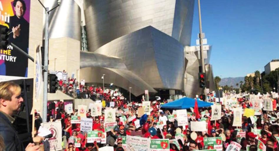 LA Teachers Union Strike