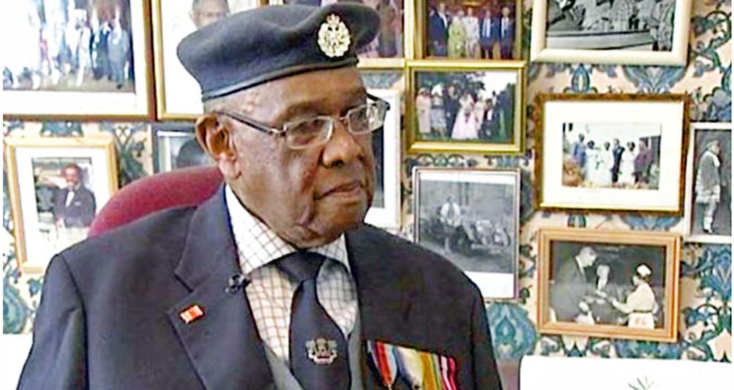 African WW11 Veteran