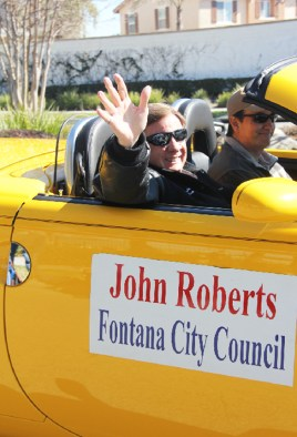 John Roberts, Member, Fontana City Council.